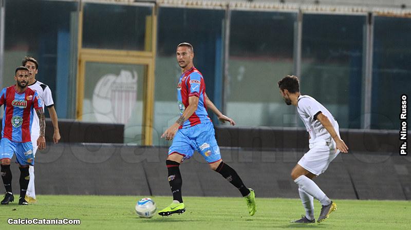 Tommaso Silvestri autore del momentaneo 1-1