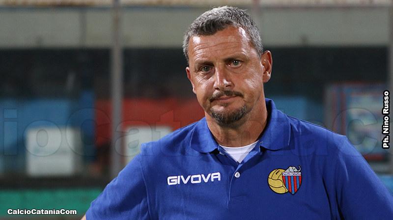 Andrea Camplone, tecnico del Catania