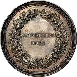 Mickley Memorial medal reverse
