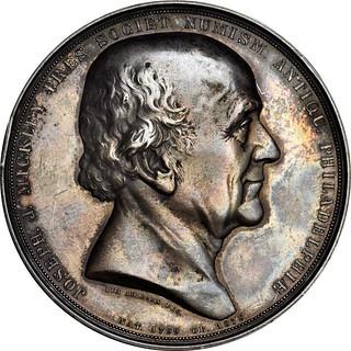 Mickley Memorial medal obverse