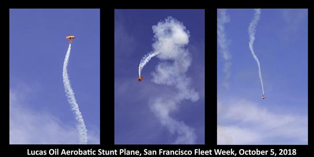 Lucas Stunt Plane Triptych