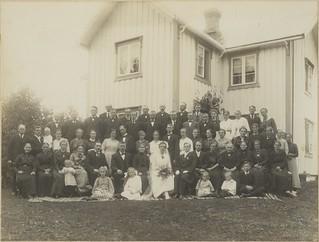 Pauline og Eivind Solbakkens bryllup (1921)