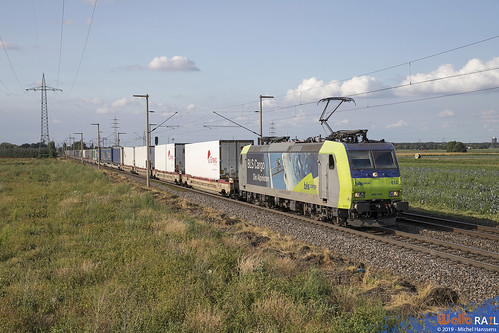Re 485 012 . BLS Cargo . Hürth, Kalscheuren . 03.08.19.
