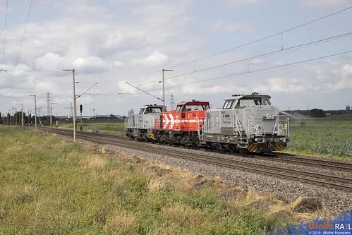 DH 201 + DE 91 + DH 706 . RHC . Hürth, Kalscheuren . 03.08.19.