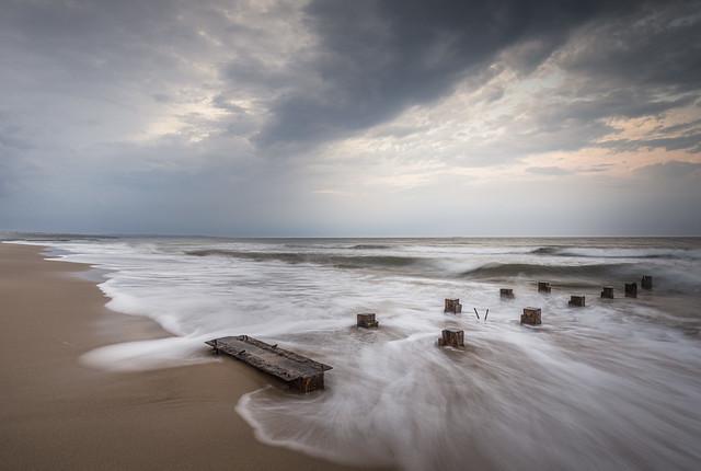 Hartlepool North Sands Beach.