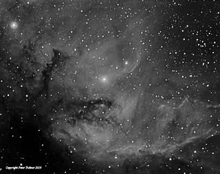 Sharpless 2-101 - the 'Tulip' nebula