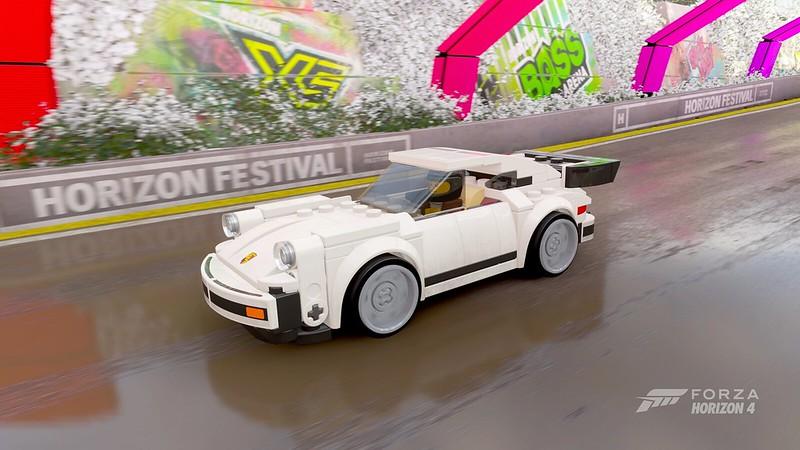 LEGO Speed Champions Porsche In-game