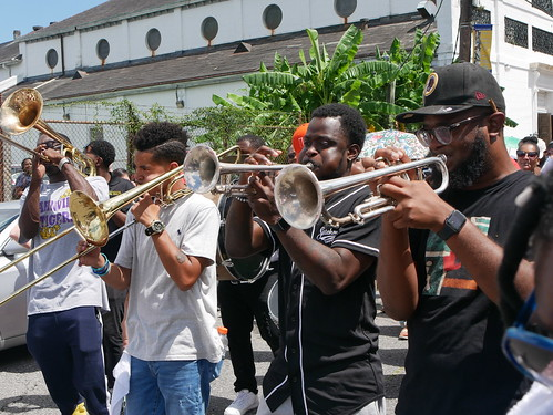 Satchmo Salute Parade for Satchmo Summer Fest on Aug. 4, 2019. Photo by Louis Crispino.