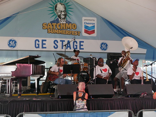 Doreen Ketchens at Satchmo Summer Fest 2019. Photo by Louis Crispino.
