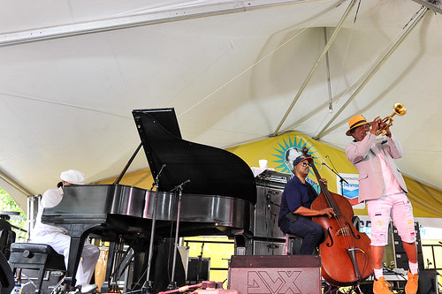 Kermit Ruffins at Satchmo Summer Fest 2019. Photo by Michael E. McAndrew.