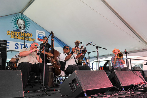Palmetto Bug Stompers at Satchmo Summer Fest 2019. Photo by Michael E. McAndrew.