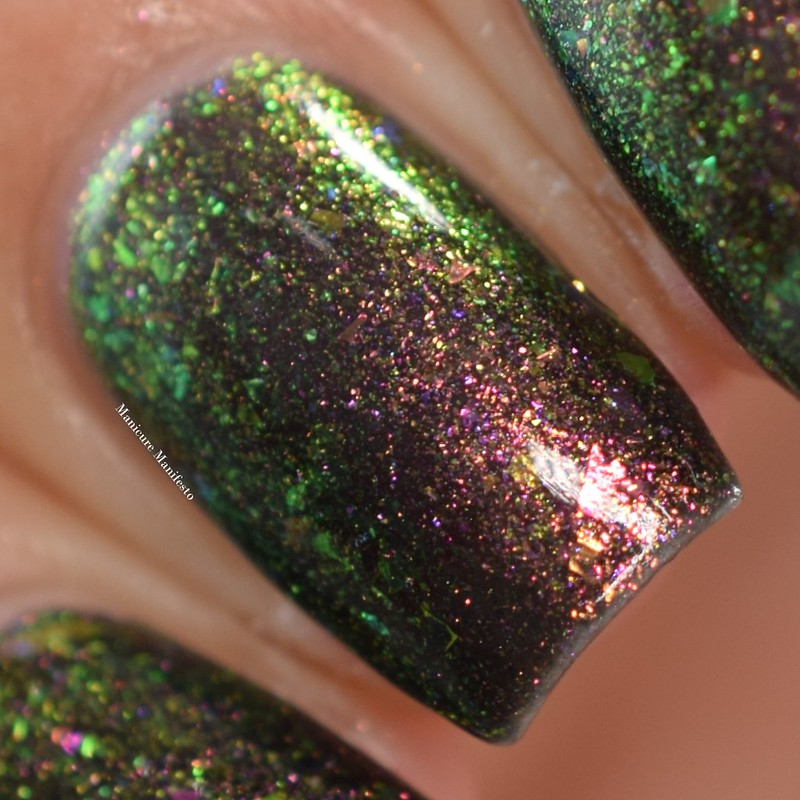 Girly Bits O, Cannabis swatch