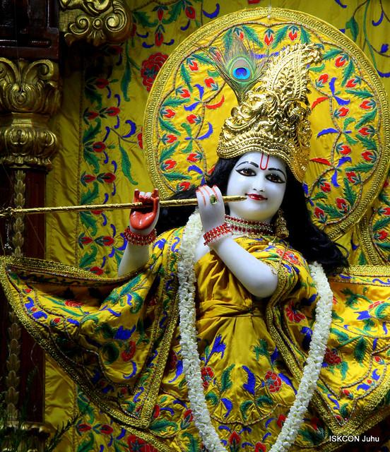 ISKCON Juhu Mangal Deity Darshan on 5th Aug 2019