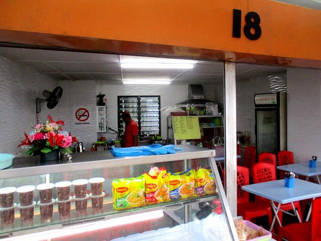 Malay/Muslim stall