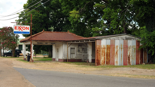 Ex - Exxon. Ferriday, Louisiana