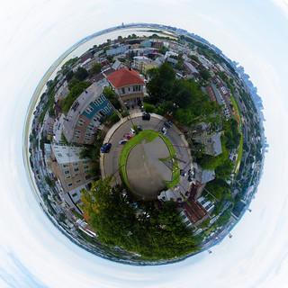 East Boston Tiny Planet