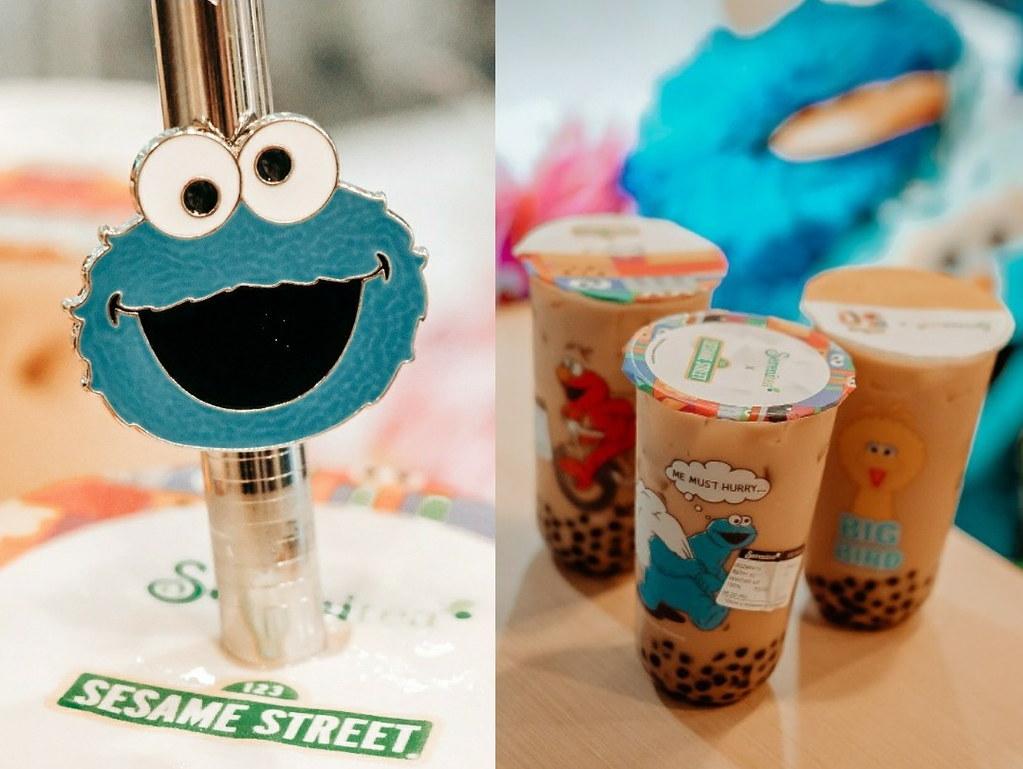 serenitea sesame street straw