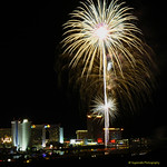 Fire over the water Laughlin June 2019
