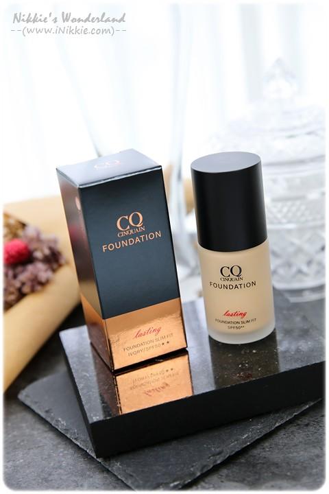 CINQUAIN 3D光感精華粉底 SPF50★★ (明亮色/自然色) CQ 裸光 奶油肌 粉底液