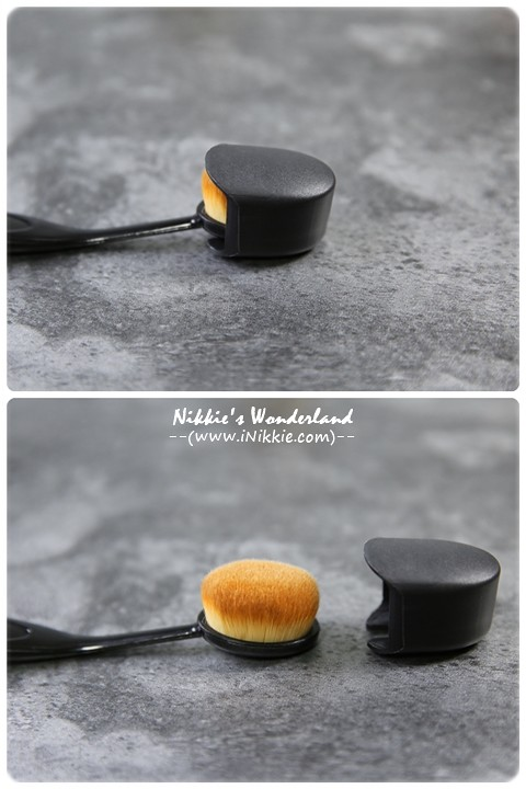 CINQUAIN 3D光感精華粉底 SPF50★★  無痕專業粉底刷 (牙刷型) 乾濕兩用 CQ 裸光 粉底液