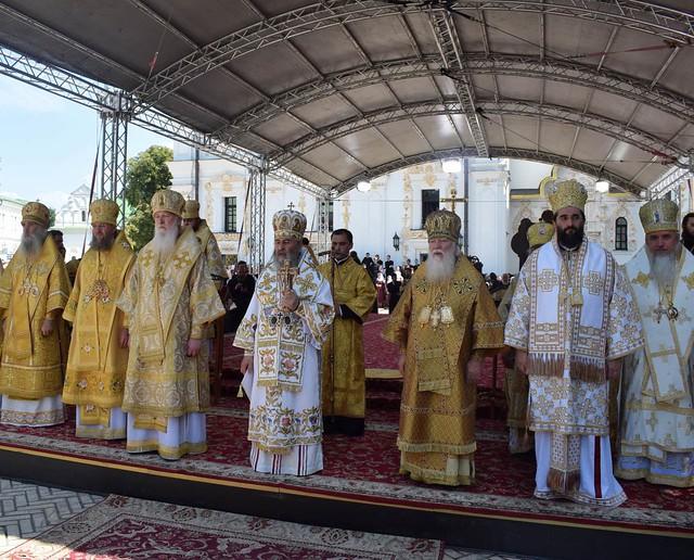 Крещение Руси. Литургия