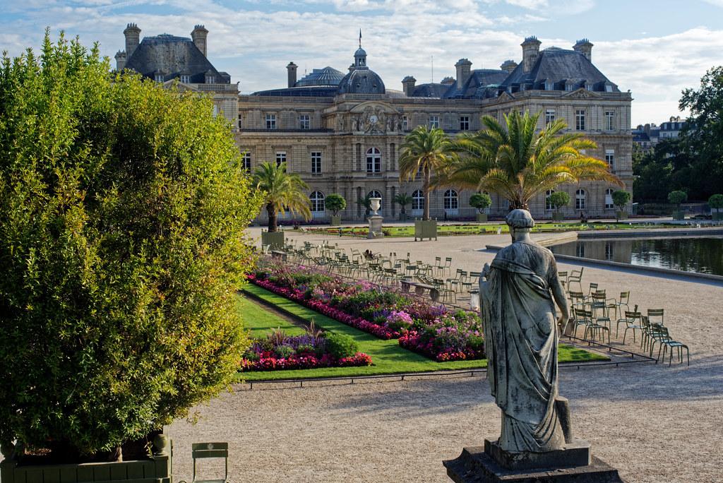 Le Sénat - Jardin du Luxembourg
