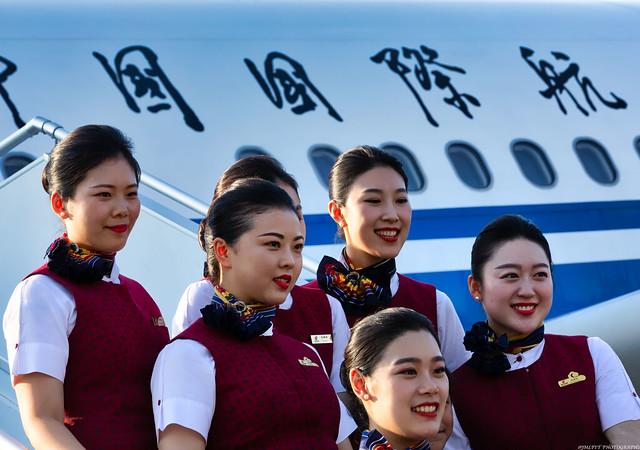 第一次直飛Pekin Nice的首航  -3D0A0432