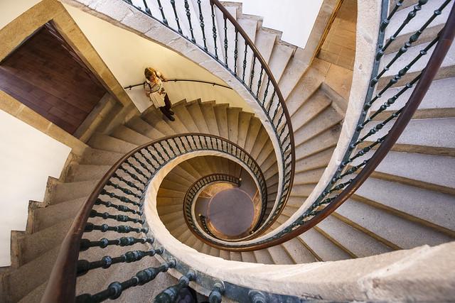 La escalera de Domingo de Andrade