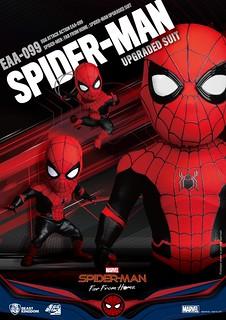 野獸國 Egg Attack Action 系列《蜘蛛人:離家日》蜘蛛人 升級戰衣 Spider-Man Upgraded Suit EAA-099