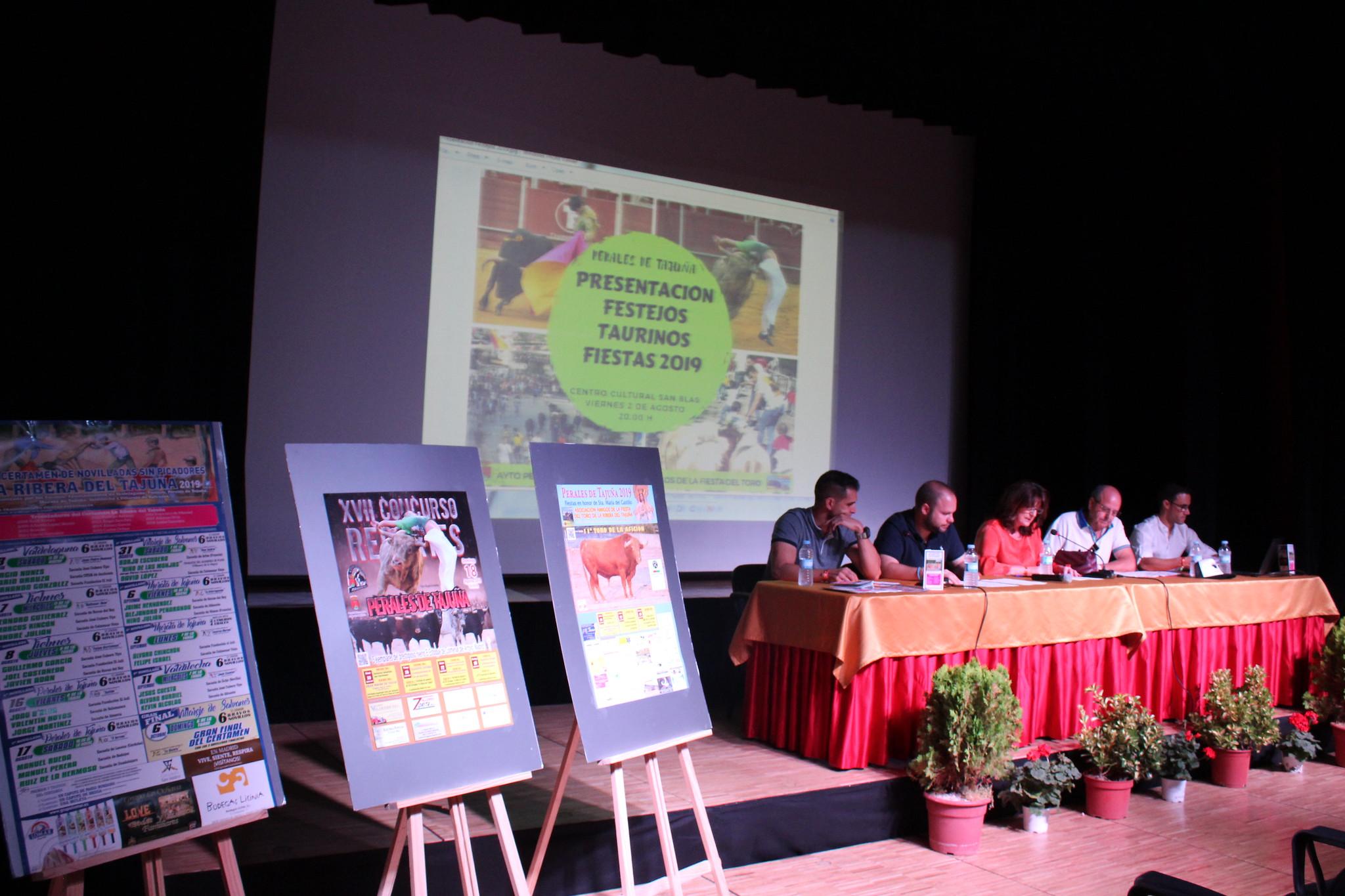 Presentación Festejos Taurinos Fiestas 2019