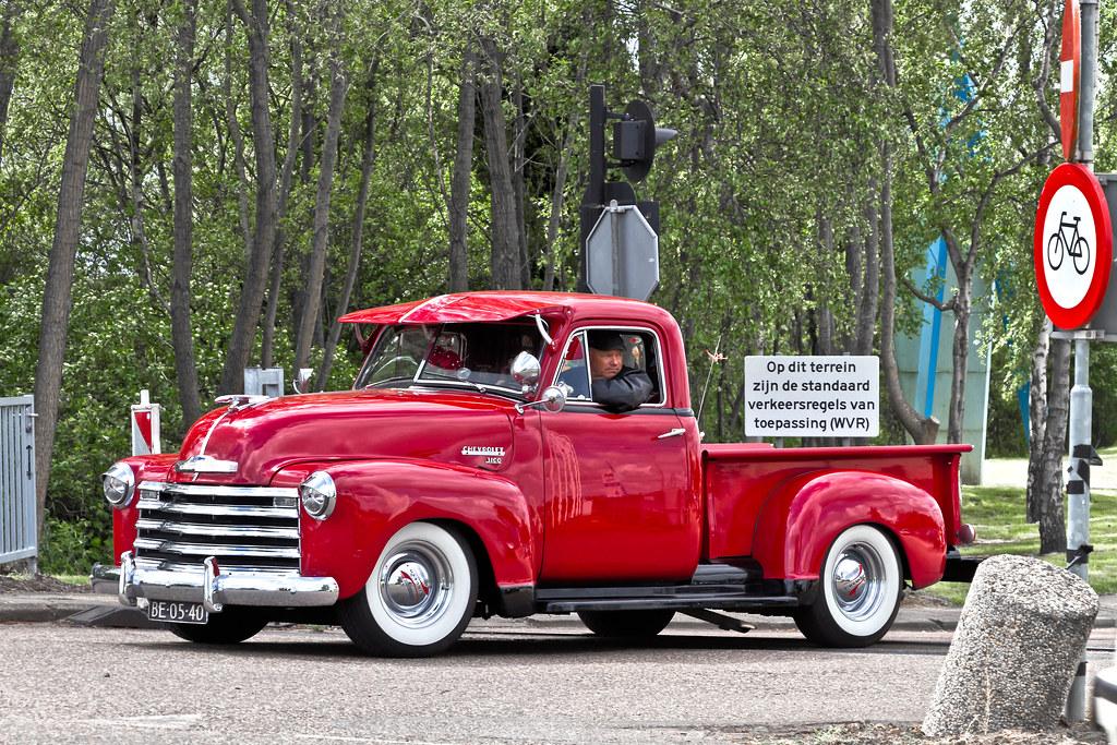 Chevrolet 3100 Stepside Pick-Up Truck 1951 (1834)