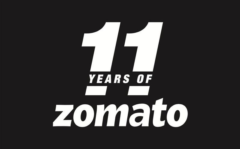 Zomato 11th Annoversary