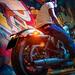 Harley Sportster 48 Photoshoot
