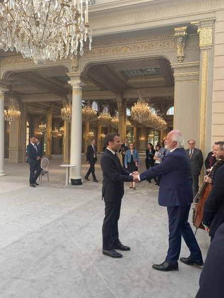 European Music Centre in Bougival launched at Ceremony hosted by French President Macron