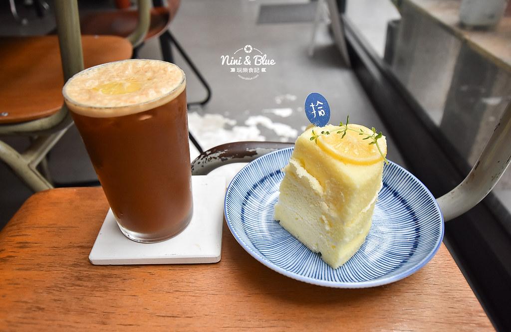 拾年咖啡 菜單 台中不限時咖啡 插座02