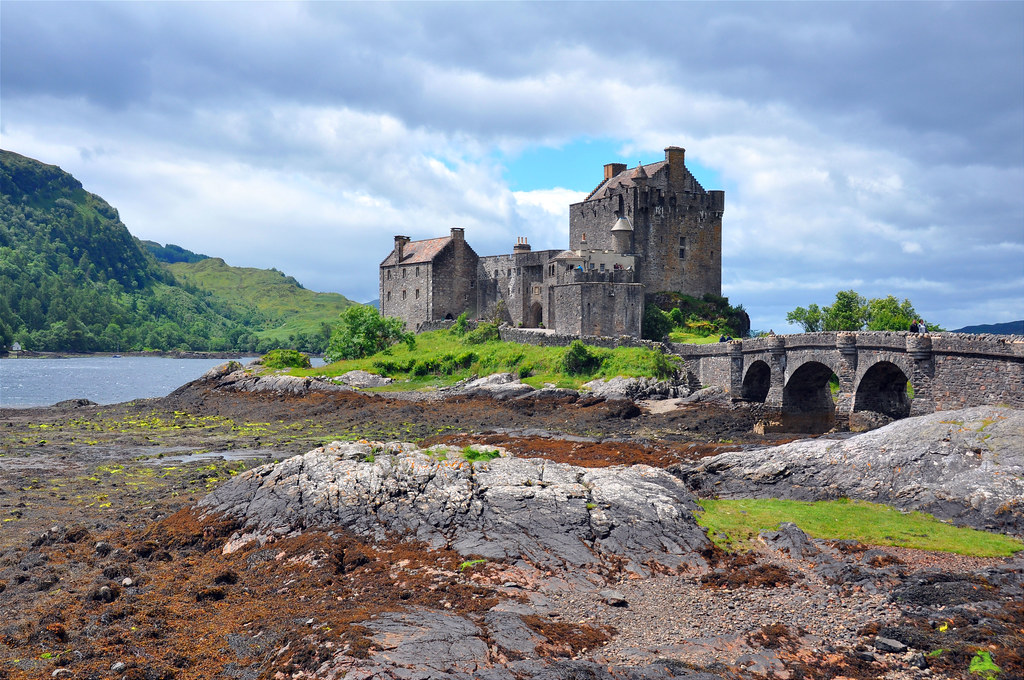 Low Tide at Eilean Donan