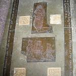 Great Chart, St Mary's church, Nicholas Toke brass