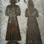 Great Chart, St Mary's church, Goldwell brass