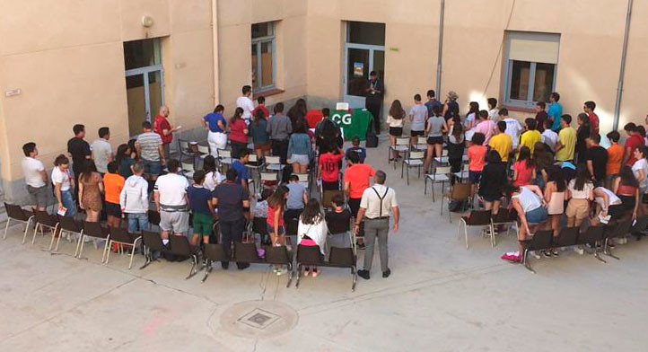 ACG Encuentro Laicos Ávila 2019 - dinámicas con adolescentes