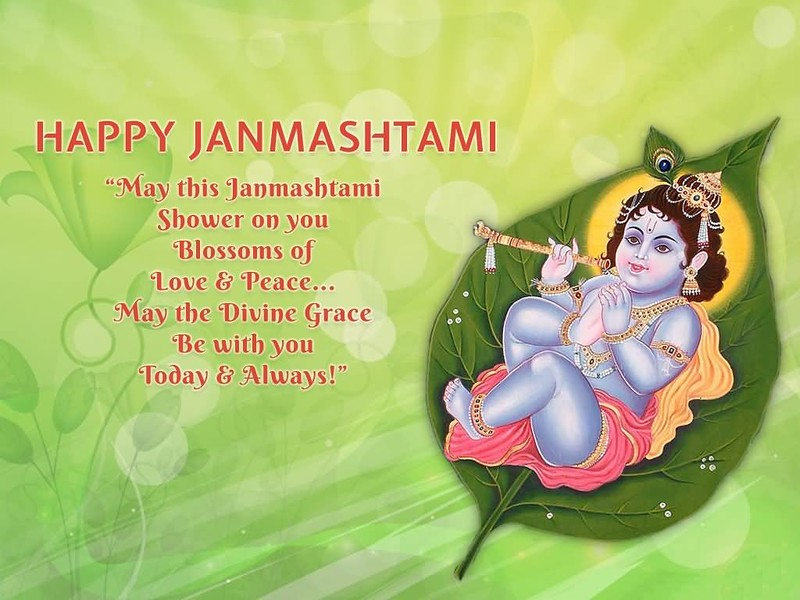 happy krishna janmashtami images