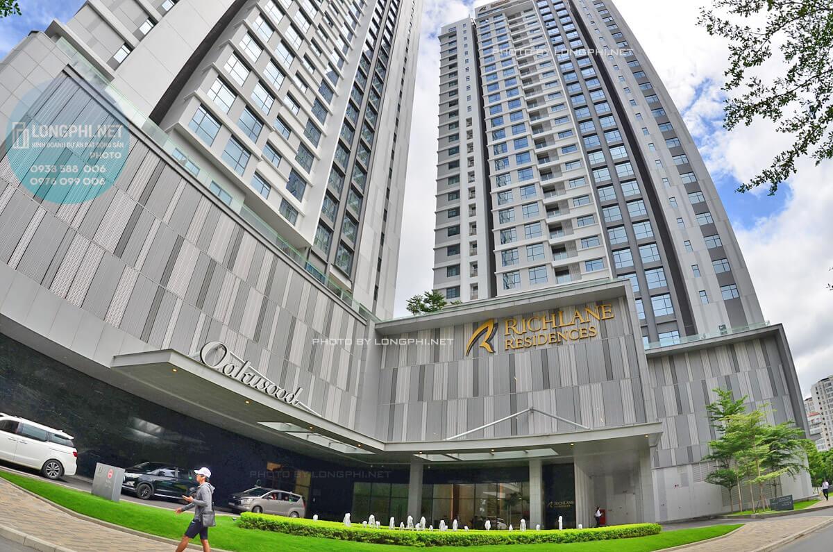 Công ty Mapletree (Singapore) đầu tư vào dự án khu căn hộ cao cấp RichLane Residences quận 7.