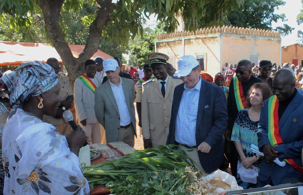 Mali ambassador visit