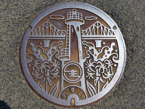 Ikitsuki Nagasaki, manhole cover (長崎県生月町のマンホール)