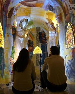 Bertuccia e Max shooting the Hall of Labyrinth