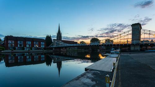 marlow sunrise reflections wetreflection