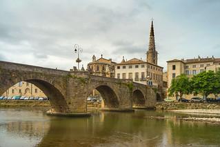 Aude bridge Limoux