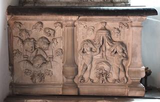 disconsolate cherubs and putti, 1718