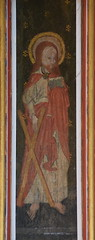 rood screen panel: St Andrew