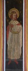 rood screen panel: Henry VI?