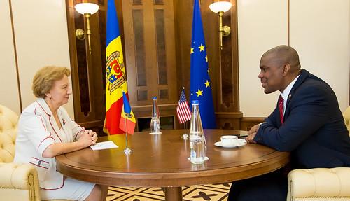 5.08.2019 întrevedere Președintele Parlamentului -Ambasadorul SUA